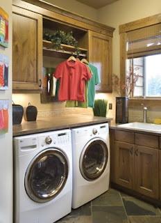 cómo acondicionar un cuarto para área de lavandería