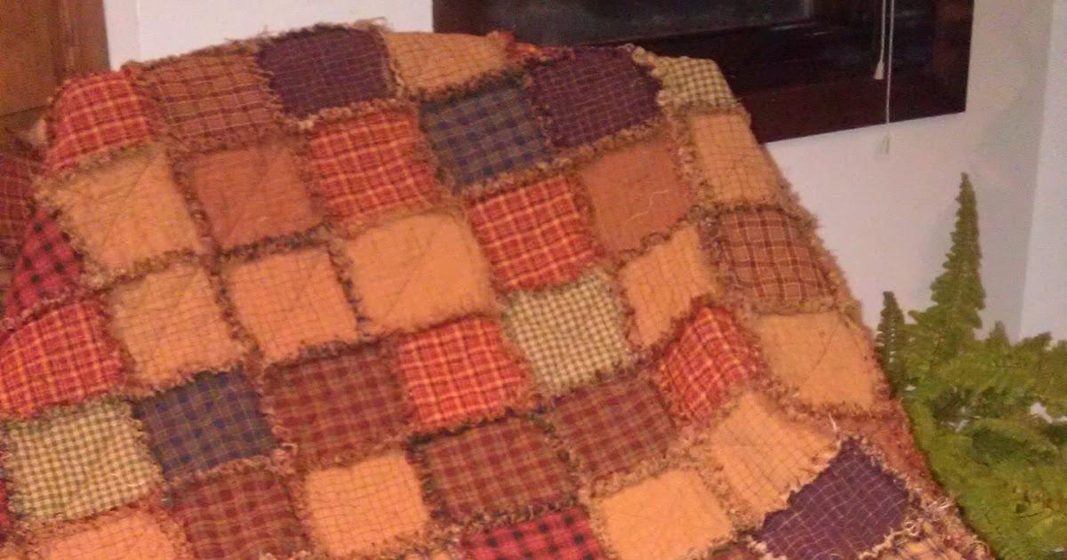 Jo S Craft Journey Homespun Rag Quilt