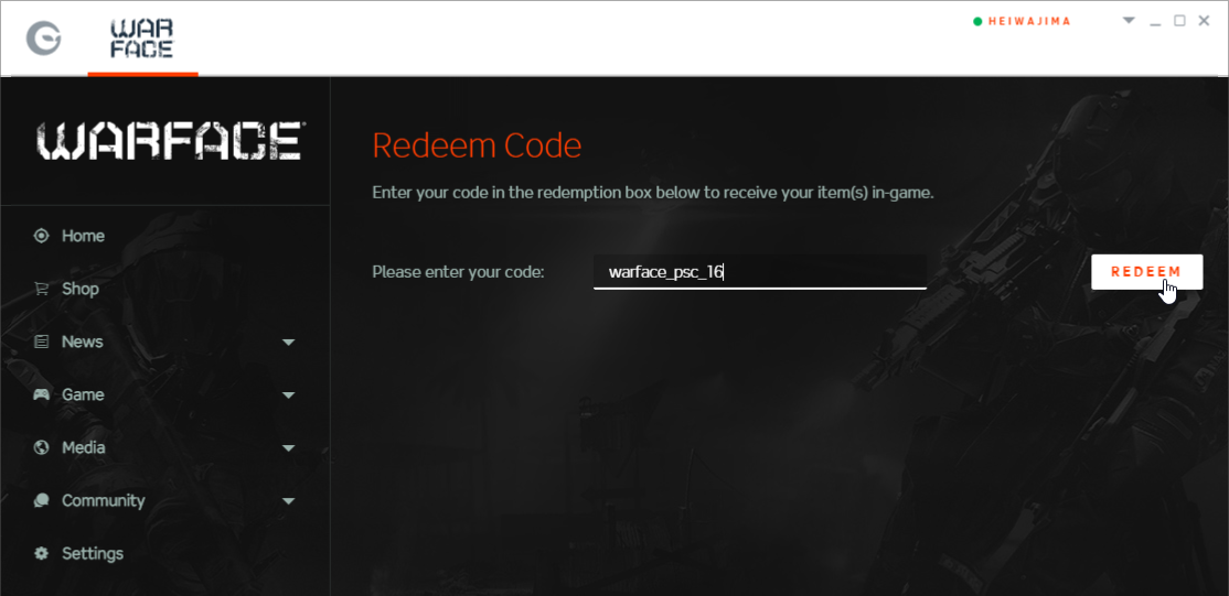 Claim Warface Redeem Codes SEP 2019 100% Working For Free