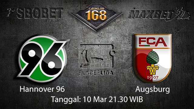 BOLA88 - PREDIKSI TARUHAN BOLA HANNOVER VS AUGSBURG 10 MARET 2018 ( GERMAN BUNDESLIGA )