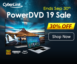 Get 10% Storewide Coupon on CyberLink Programs