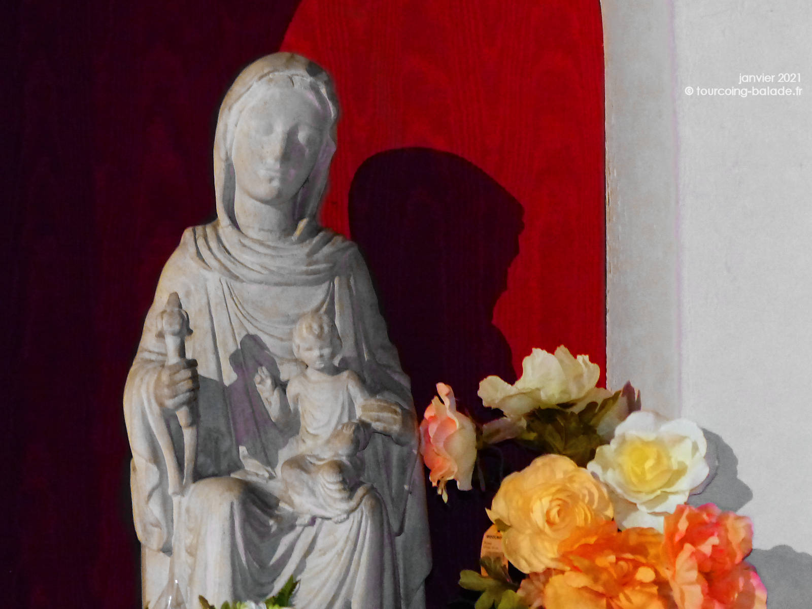 Notre Dame de la Treille, Église Saint Christophe Tourcoing, 2021