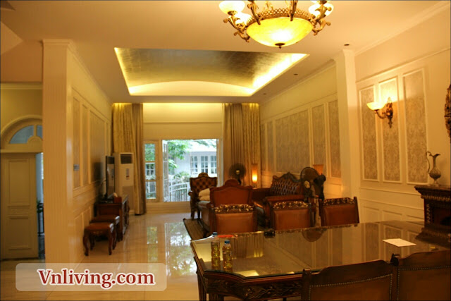 Villa Saigon Pearl For Rent Luxury Style furniture
