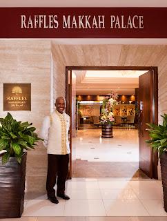 hotel raffles mekkah