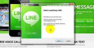 طريقة تحميل برنامج line