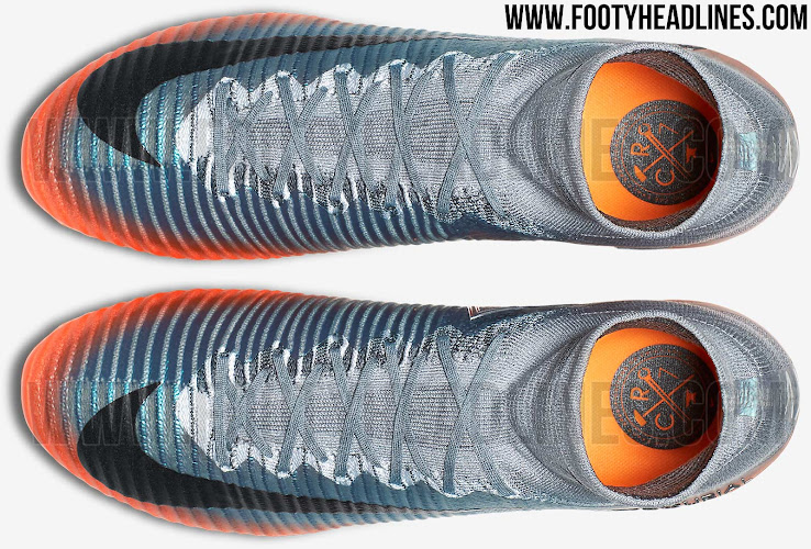 Nike Mercurial Superfly V Cr7 Chapter 4 - Cool Grey / Orange / M