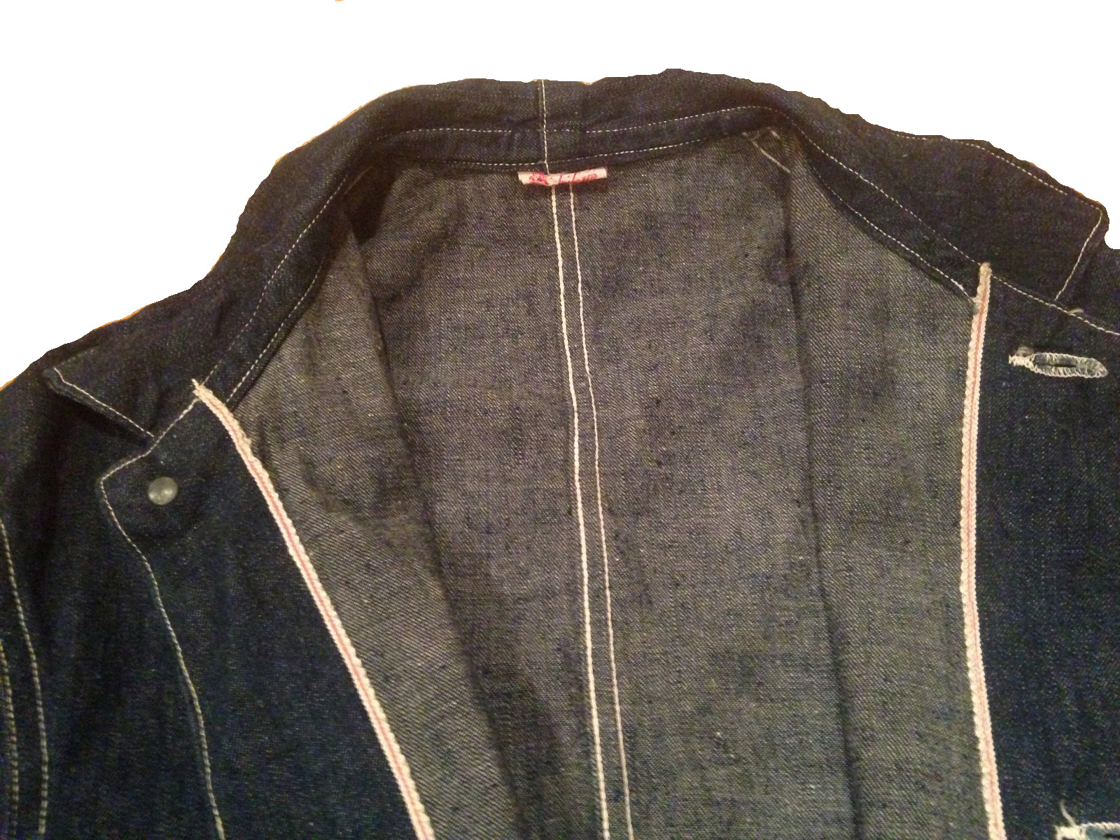 826d31ff93 CANTRIPUM brand union made two pocket denim jacket manufactured by Hooker