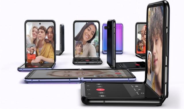Bocoran perubahan Desain pada Samsung Galaxy Z Flip 2