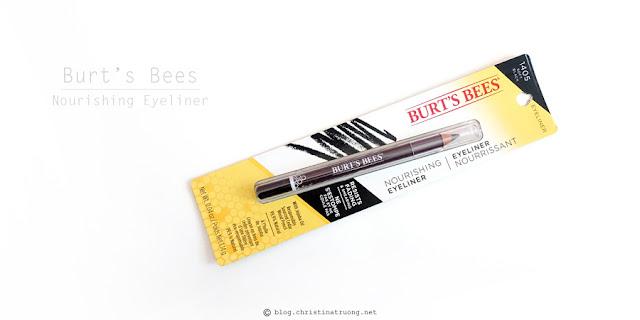 Burt's Bees Beauty Nourishing Eyeliner 1405 Soft Black Review