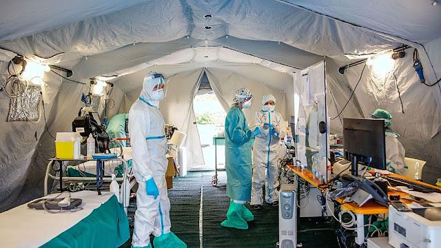 Белгийски лекари с опасност за живата, лекували болни от COVID-19