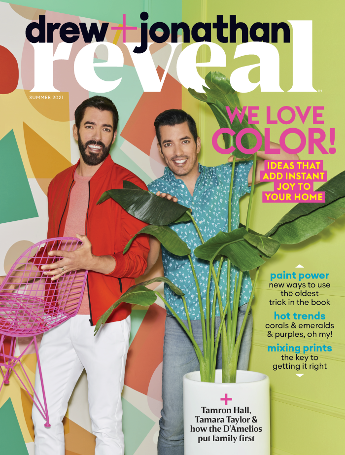 We're  Featured In Reveal Magazine's Color Issue!-designaddictmom