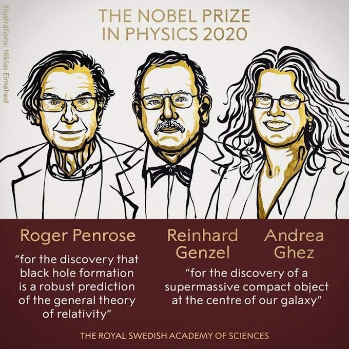 2020 Nobel Prize in Physics