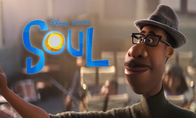 "Pixar's ""Soul"" New Official Trailer, In Disney and Pixar's ""Soul,"" a middle-school band teacher named Joe finds himself in The Great Before—a fantastical place where new souls get their personalities, quirks and interests before they go to Earth. Determined to return to his life, Joe teams up with a precocious soul, 22, to show her what's great about living. Featuring Tina Fey as the voice of 22, and Jamie Foxx as the voice of Joe Gardner, ""Soul"" opens in U.S. theaters on June 19, 2020"