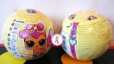 Что нарисовано на оригинальных шарах ЛОЛ Сюрприз с питомцами