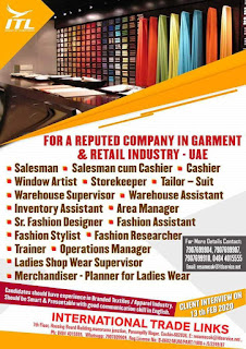 Garment and Retail Industry in UAE