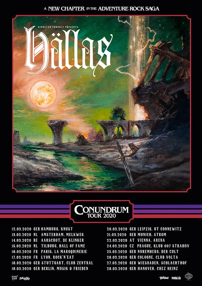 Hällas Conundrum tour