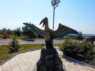Региональный ландшафтный парк «Клебан-Бык». Скульптурные изображения динозавров