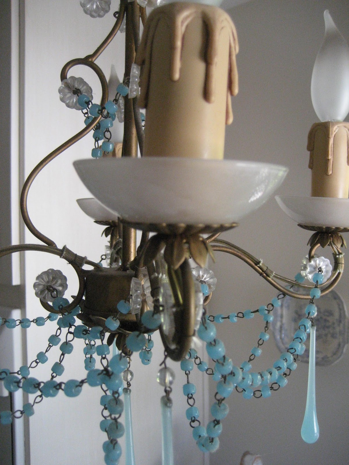 She Has One With The Same Kind Of Glass And Wanted To Know Where Could Get More Drops Add Her Chandelier