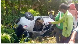 #JaunpurLive :  चारपाई पर सो रहे युवक को अनियंत्रित कार ने रौदा, मौके पर मौत