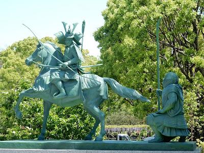 源義経・武蔵坊弁慶の像