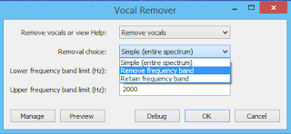 change removal choice audacity