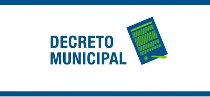 Novo Decreto Municipal vale a partir desta terça (13), até quarta (28)