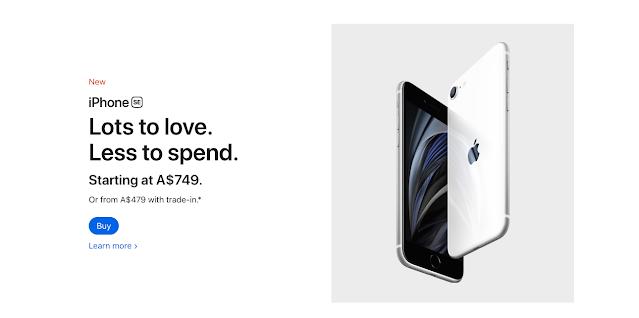 apple ecommerce website design