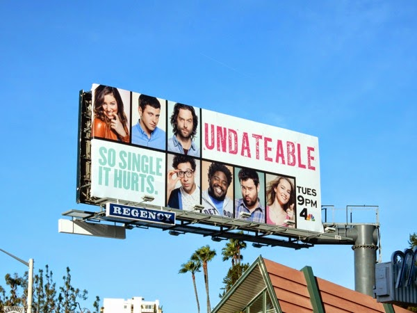 Undateable season 2 NBC billboard