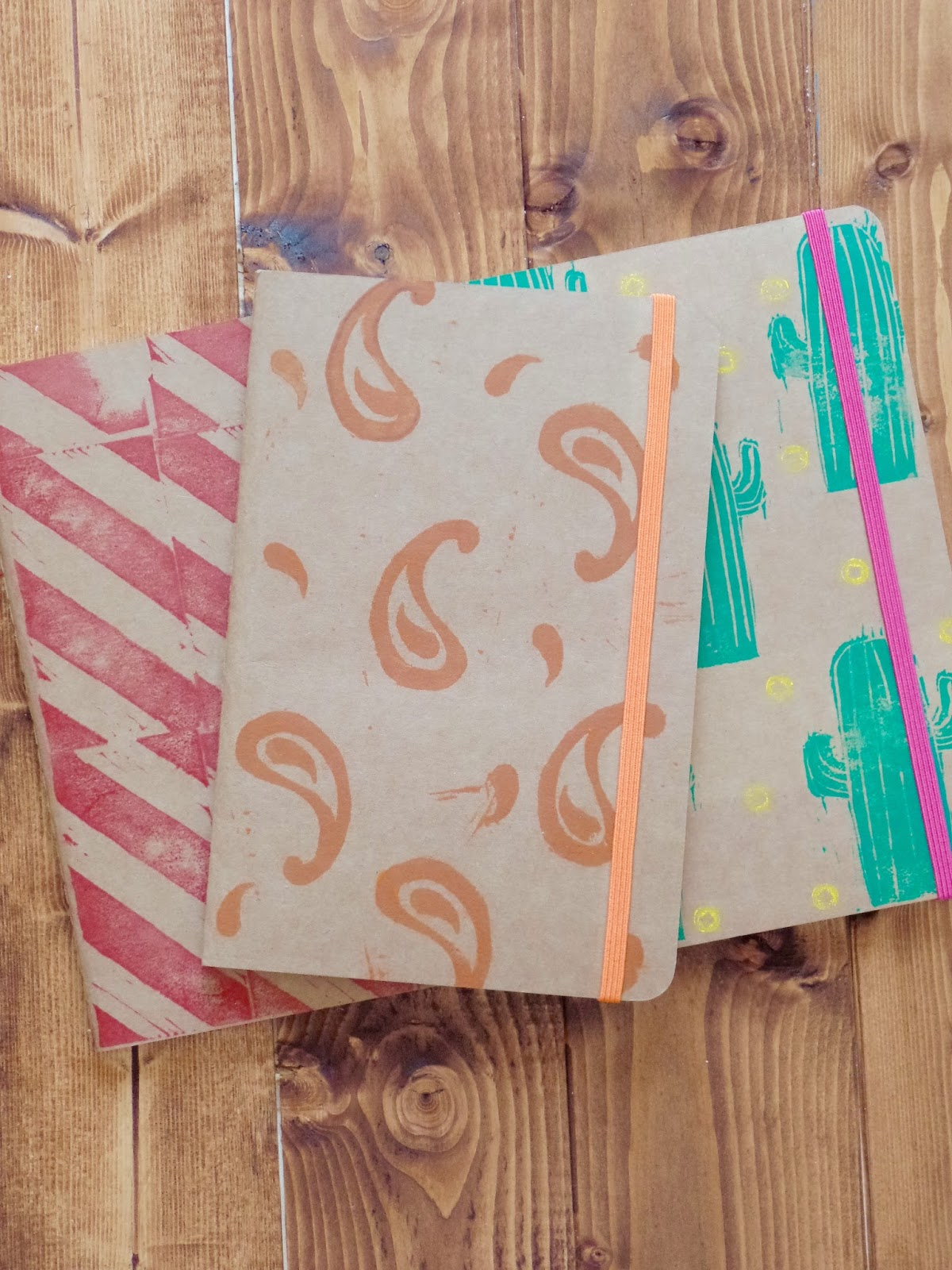 Personalised Kraft Notebooks