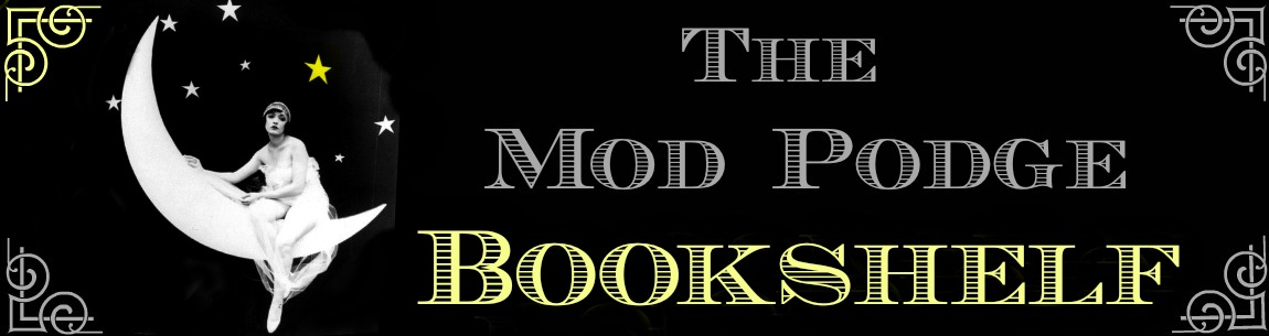 The Mod Podge Bookshelf