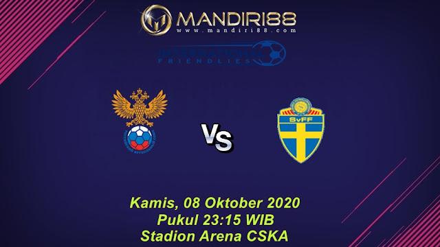 Prediksi Rusia Vs Swedia, Kamis 08 Oktober 2020 Pukul 23.15 WIB @ Mola TV