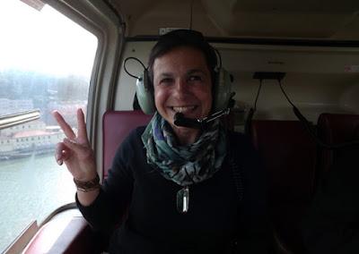 passeio de helicóptero no Porto