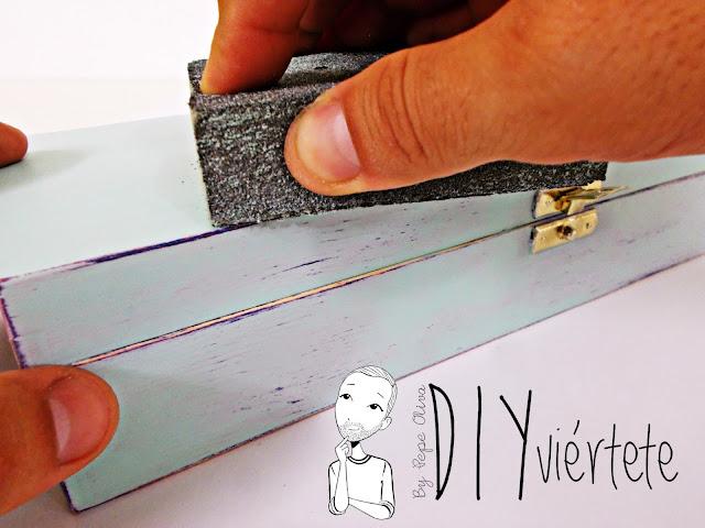 DIY-caja-madera-manualidades-marmoleado-marmolado-pinturas-Opitec-Handbox-mint-colores-vintage-6