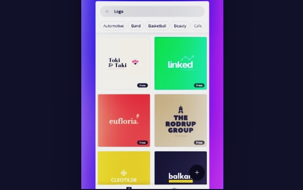 Canva Android Poster Editor