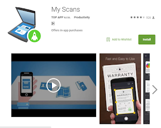 my scans app