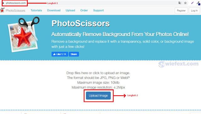 Cara Menghilangkan Background Foto dengan PhotoScissors