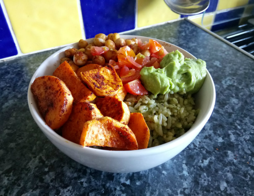 Vegan Mexican Bowl