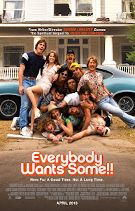 Everybody Wants Some!! Poster