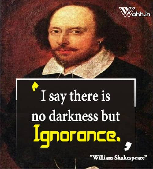 William-Shakespeare-ignorance-quotes