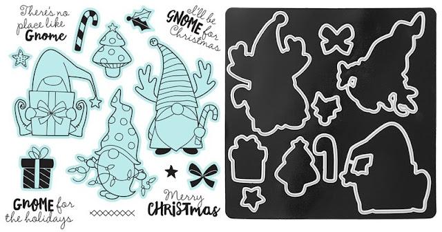 #CTMHVandra,#CTMHJingleJoy,Colour dare,color dare,Christmas,gnomes,thin cuts,Ribbon,presents,tri-blend markers,Vandras online card club,