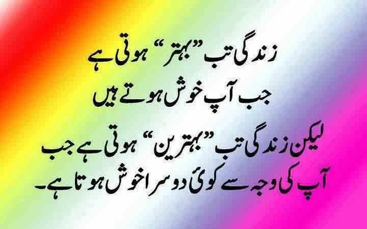 Urdu Quotes…