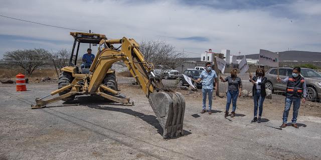 En El Marqués inician obras de urbanización en El Pozo y en Palo Alto