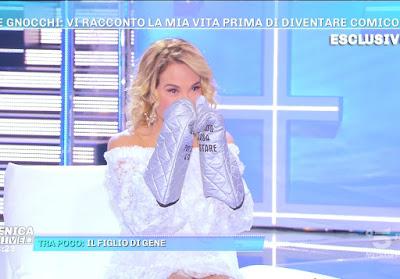 Barbara D'Urso boxe presine forno domenica Live