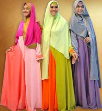 17 Gamis Dan Hijab Syar 39 I Remaja Jadi Inspirasi Lebaran