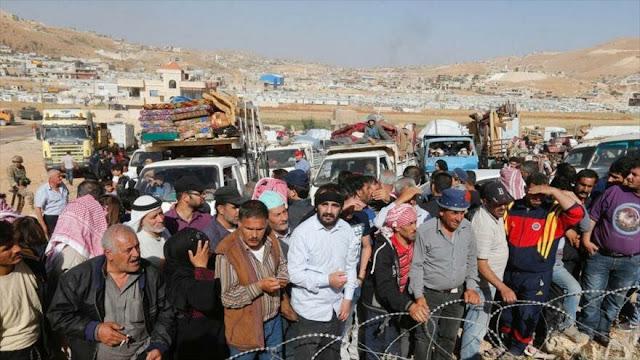 El Líbano alerta del plan de Occidente contra refugiados sirios