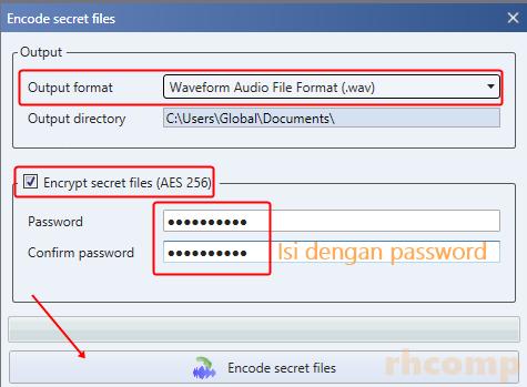 Cara Menyembunyikan File di Musik