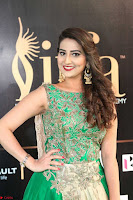 Manjusha in Beautiful Sleeveless Green Anarkali dress at IIFA Utsavam Awards 87.JPG