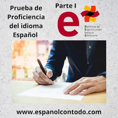 Prueba de proficiencia del idioma español - DELE