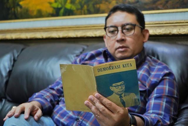 Fadli Zon Baca Buku 'Demokrasi Kita', Kritik Tajam Bung Hatta terhadap Soekarno, Mirip Kondisi Sekarang