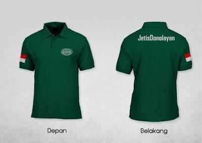 Jasa Pembuatan Custom T Shirt Polo Bordir Dan Sablon Murah